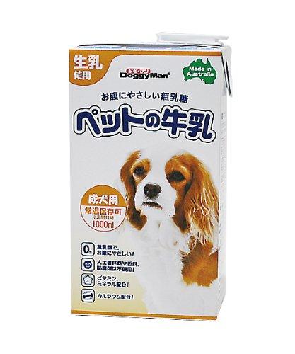 ペットのミルク