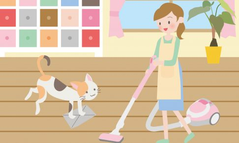 部屋のノミ・ダニを徹底駆除!猫を飼っているお部屋のお掃除のコツ3つ