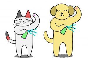 ペットの消臭剤にはいくつか種類がある!除菌&シミ取り効果も