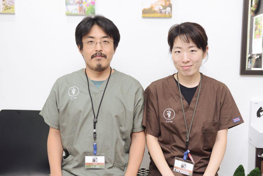 おひげ動物病院 スタッフ写真