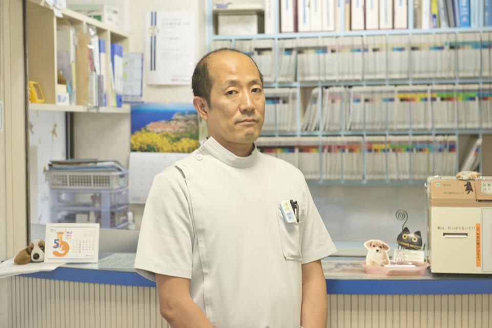 アトラス動物病院の院長