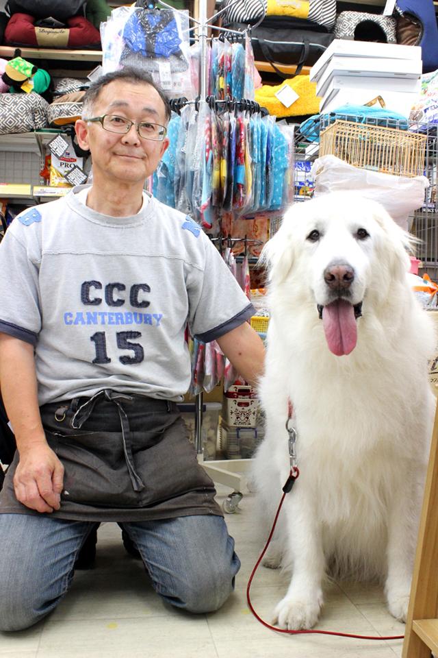ペット用品専門店 どんぐり1号のオーナー