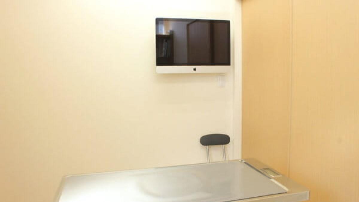 カール動物病院診察室写真