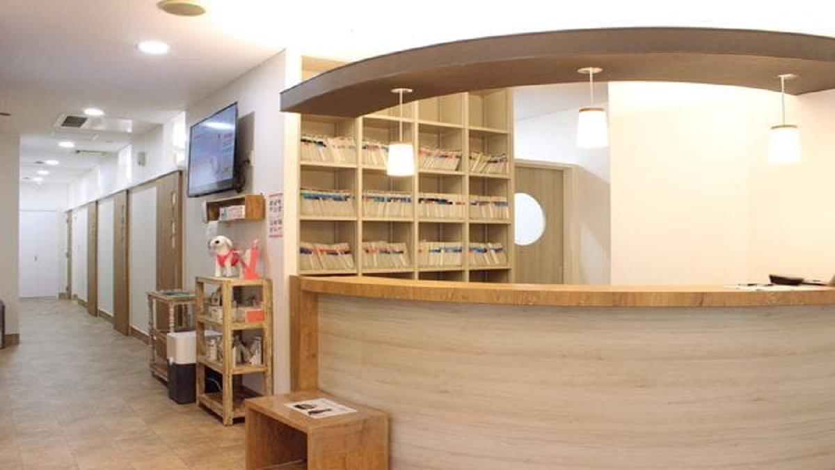 鈴木犬猫病院診察室写真