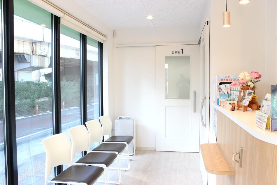 橋本動物病院待合室
