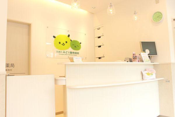 久米川みどり動物病院の施術室