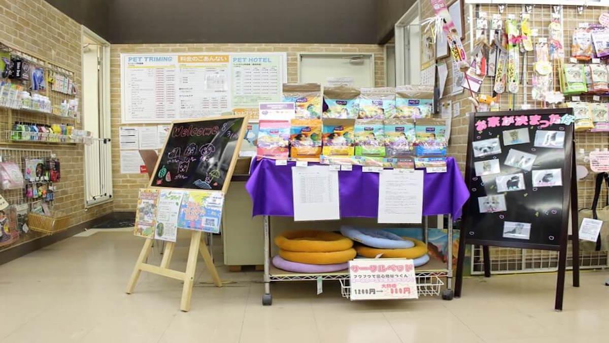 ペットプラザ江東深川店(ホテル)